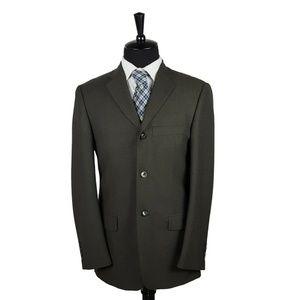 Banana Republic Sport Coat Blazer 40R Olive Green